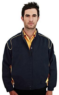 Tri-mountain Mens 100% Cotton TMR Woven Jacket, Full Lined.