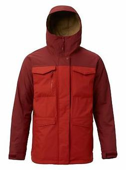 Burton Men's Covert Jacket, Sparrow/Bitters, Small