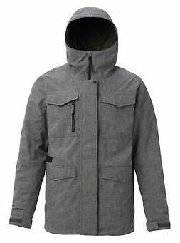 Burton Men's Covert Shell Jacket, Bog Heather, Medium