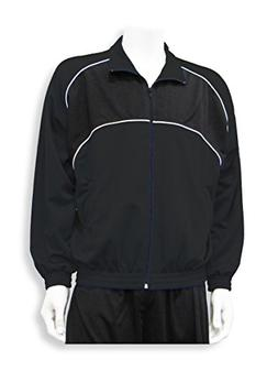 Crossfire poly-knit soccer warm up jacket - size Youth M - c