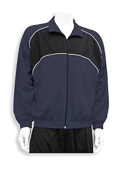 Crossfire poly-knit soccer warm up jacket - size Youth L - c