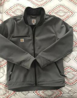 Carhartt ® Crowley Soft Shell Jacket Men's Coat Charcoal Si