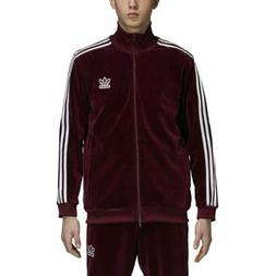 Mens Adidas Originals Velour Beckenbauer Track Top Jacket