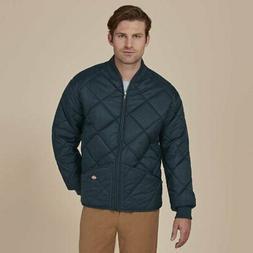Dickies Men's Diamond Quilted Water Resistant Jacket, Dark N
