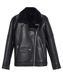 fb98b747 Zara Men Double-Sided Biker Jacket 0706/474 Black