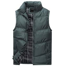 Tangda Fashion Mens Down Vest Jacket Gilets Size S