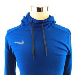 Nike Dry Training Brushed Navy Hoodie Sweatshirt Pullover Me