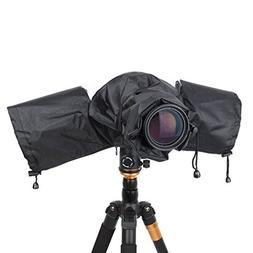 DSLR Cameras Rain Cover Raincoat Protector Rainproof Camera