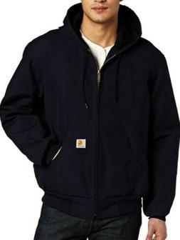 Carhartt Men's Duck Active Jacket Thermal Lined