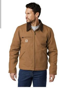 Carhartt Duck Detroit Jacket Brown Size Men's Large New Wi