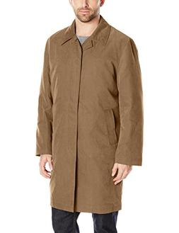 London Fog Men's Durham Rain Coat with Zip-Out Body, British