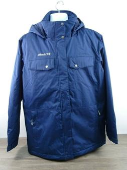 Columbia Eagles Call Insulated Jacket Men's Medium Navy Blue