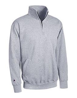 Champion Eco Fleece 1/4 Zip Pullover, Light Steel, Medium