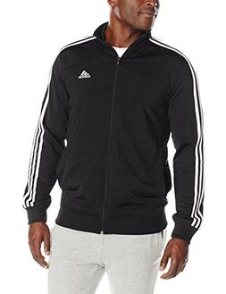 NEW ADIDAS MEN'S ESSENTIALS KEY TRAINING TRICOT TRACK JACKET