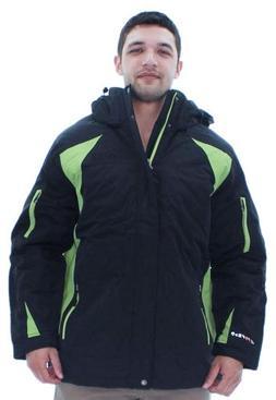 Akademiks Expedition Men's Triclimate Jacket Coat Snow Parka