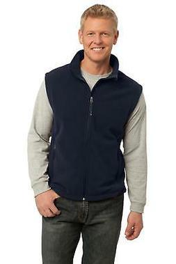 F219 Port Authority Men's Sleeveless Jacket Value Fleece Ves