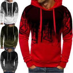 Fashion Mens Camo Military Sweatshirts Tops Hoodie Casual Co