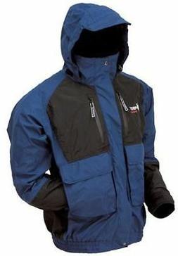 Frogg Toggs Toadz Firebelly Jacket, Dust Blue/Black, Size La