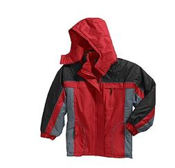 Men's Fleece Lined Jacket with Removable Hood