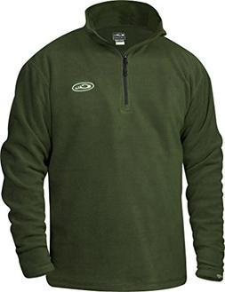 Drake Men's Fleece Quarter Zip Pullover Large