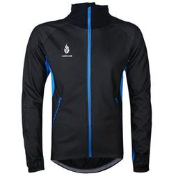 WOLFBIKE Fleece Thermal Coat Outdoor Sports Casual Jacket on