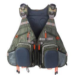 Fly Fishing Vest Pack Adjustable Vest Backpack for <font><b>