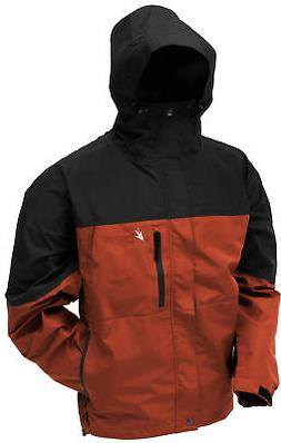 Frogg Toggs FNT6601145 Mens Toad Rage Rust/Black Jacket FAST