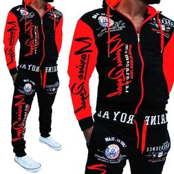 <font><b>Men</b></font> Track Suit Hooded <font><b>Jacket</b