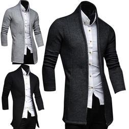 <font><b>Mens</b></font> Vintage Blazer Coats Knitted Mandar