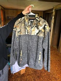 LEGENDARY Whitetails Forager Full Zip Fleece Mens Hunting Ca