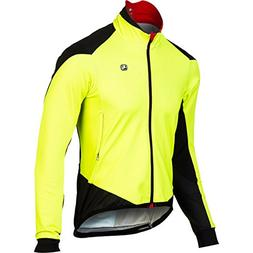 Giordana FormaRed Carbon Men's Jacket Fluo Yellow, L