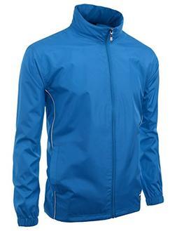 Men Functional Basic design outdoor windbreaker zipup Jacket