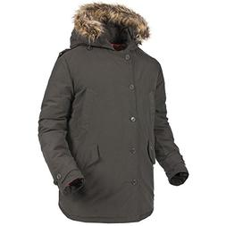 Trespass Mens Gallacher Parka Style Down Jacket / Coat