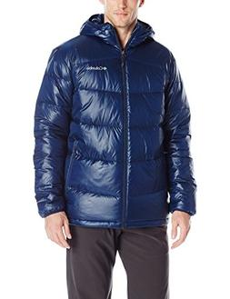 Columbia Men's Gold 650 TurboDown Hooded Down Jacket, Large,