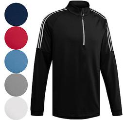 Adidas Golf Classic 3 Stripes 1/4 Zip Pullover Men's 2018 Ne