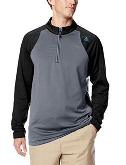adidas Golf Men's ClimaWarm 1/4-Zip Colorblock Training Top,