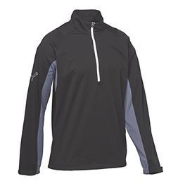 Puma Golf Men's Long Sleeve Storm Cresting Jacket, Black, La
