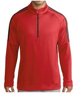 adidas Golf Men's Classic 3-Stripes 1/4 Zip Pullover Collegi