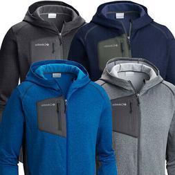 Columbia Men Jackson Creek Fleece Hoodie  S-M-L-XL-XXL Zip Up Lightweight Jacket