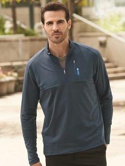 Adidas - Golf Mixed Media Quarter-Zip Jacket - A195
