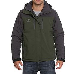GERRY Mens Green Gray PRO-SPHERE INSULATED winter JACKET COA