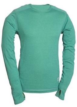 66 North Men's Grettir Long Sleeve Tee, Medium, Apple Green