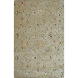 Fashion Weavers Hand-tufted Fresco Wool Rug  Beige Gold, Nat