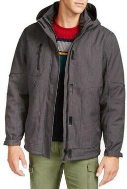 Hawke & Co. Mens Jackets Deep Gray Size Medium M 3-In-1 Insu