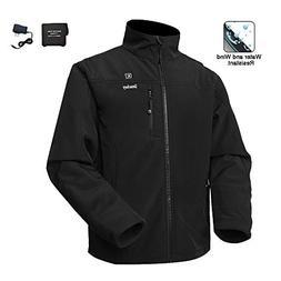 Smarkey Men's Heated Jacket 1pcs 5200mAh Battery Charger for