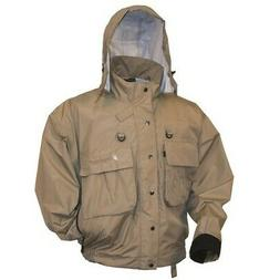 Frogg Toggs Hellbender Fly & Wading Jacket, 2X, Stone