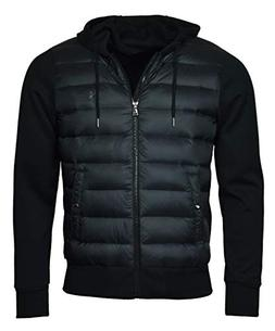 Polo Ralph Lauren Men's Hooded Down Double Knit Quilted Jack