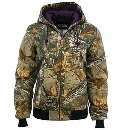 Junior Women's Volcom 'Flint' Hooded Insulated Jacket