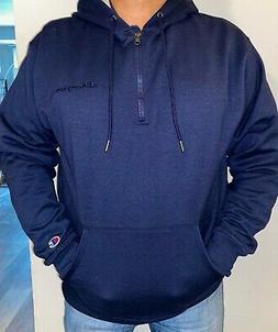 Hoodie Sweatshirt Champion Men's Powerblend Fleece Quarter Z