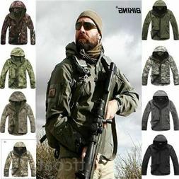 Hot ESDY Shark Skin Soft Shell Men's Outdoors Military Tacti
